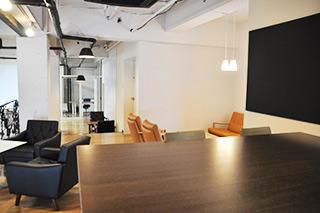 ワグテイルのカフェスペースです
